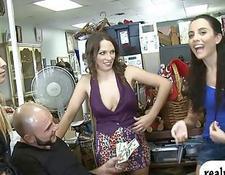 hot toilet group sex fantasy